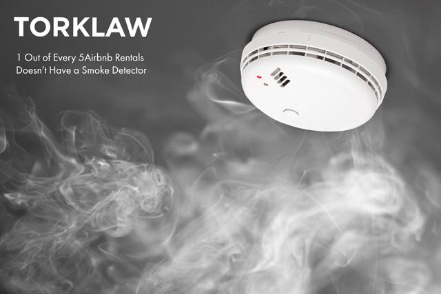 Airbnb - smoke detector