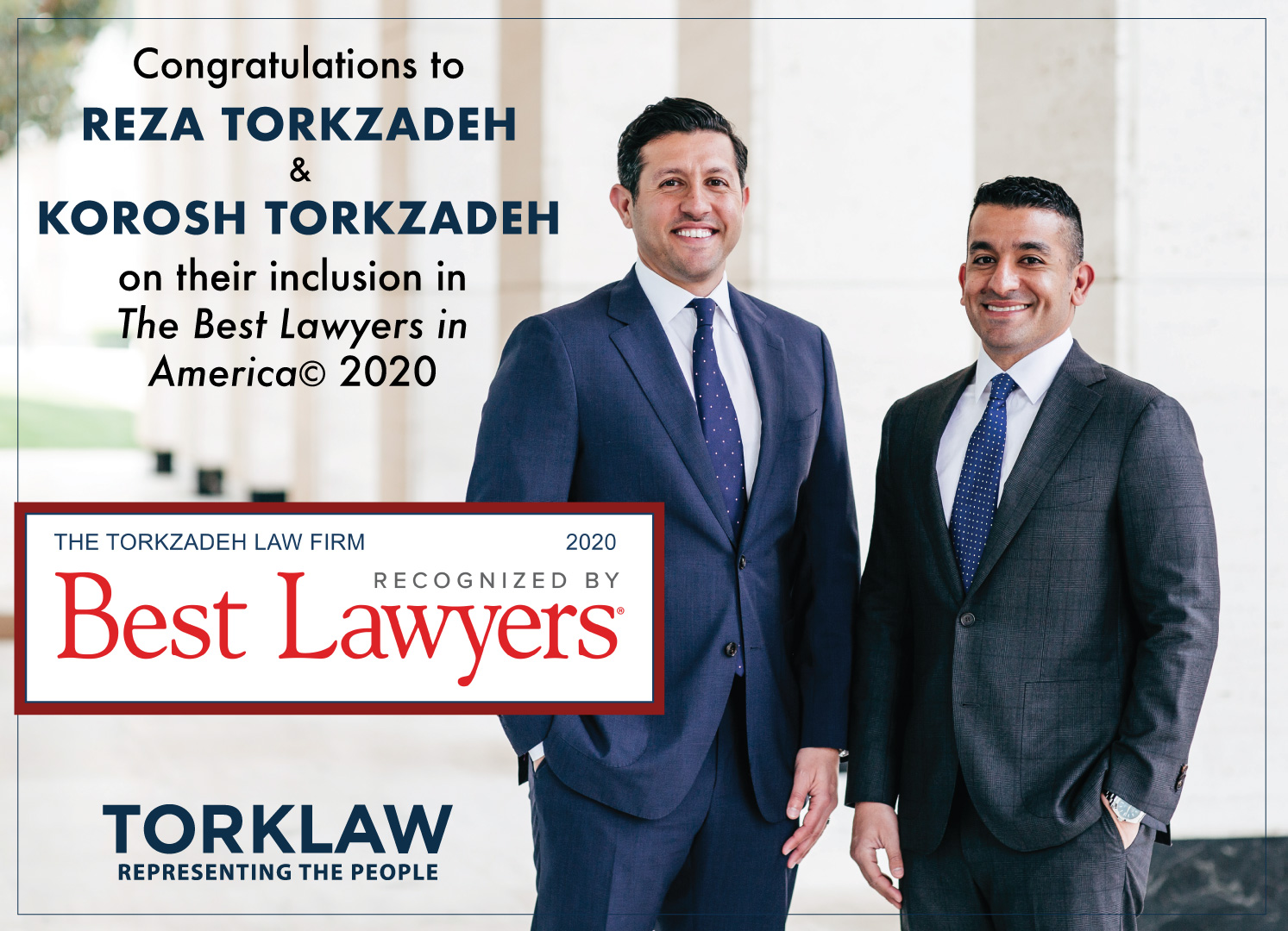 TorkLaw Attorneys - Best Lawyers Award