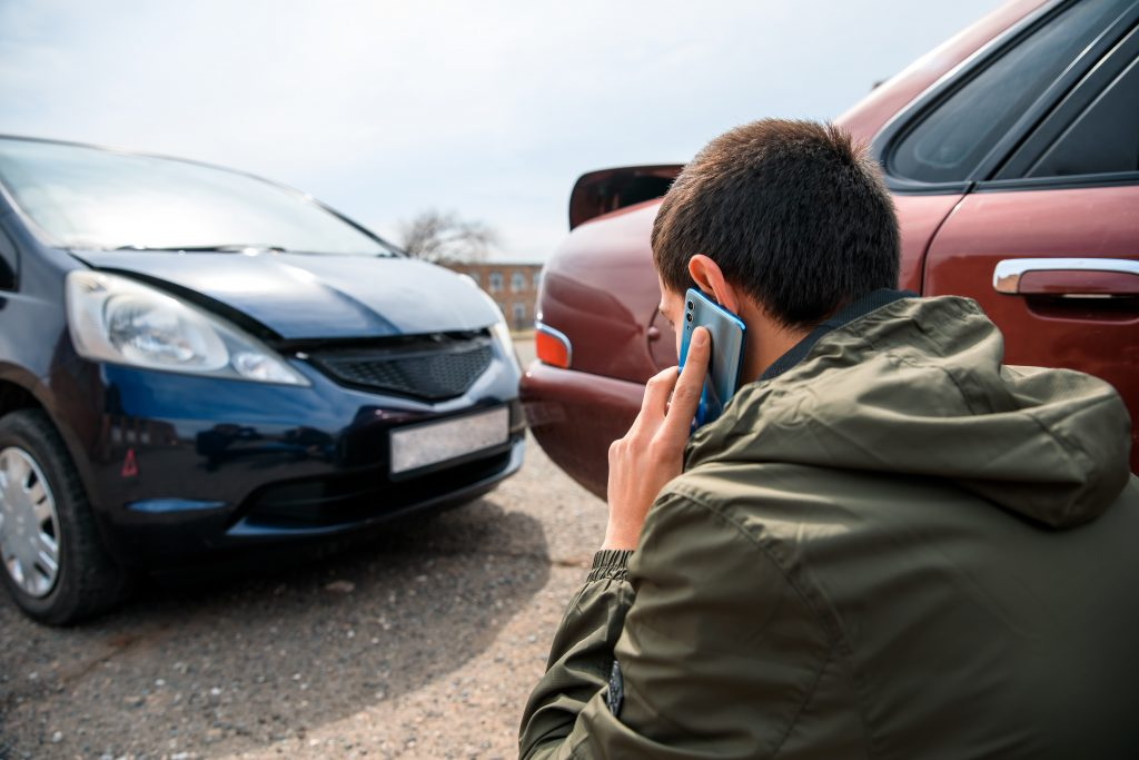 In a Car Accident - Calling a Lawyer