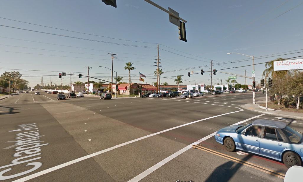 Chapman Avenue - Most Dangerous Roads in Orange County