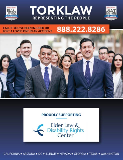 TorkLaw Supports Elder Law & Disability Rights Center Fundraiser