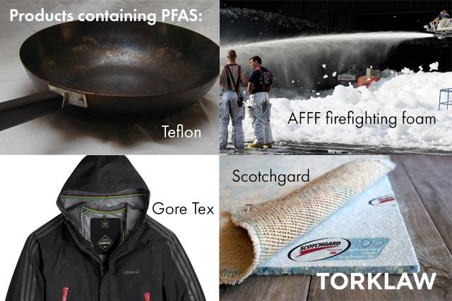forever chemicals - PFAS