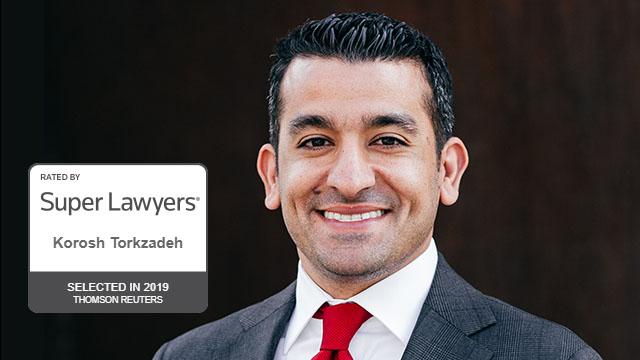 Korosh Torkzadeh named SuperLawyer