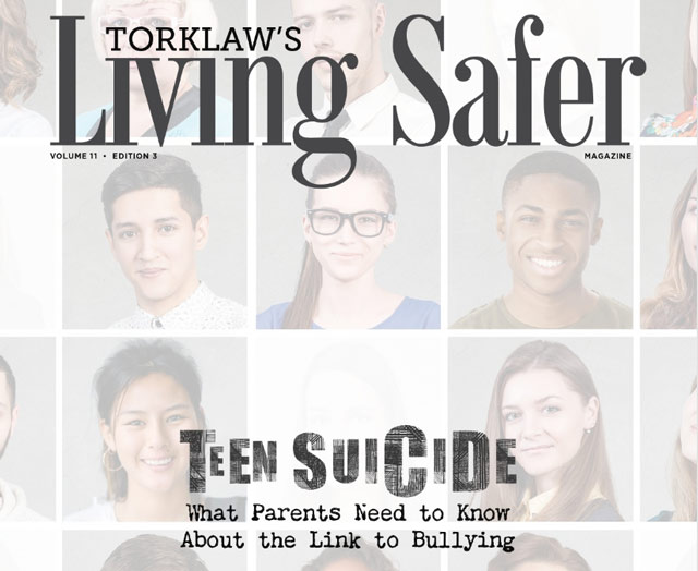 living safer - teen suicide