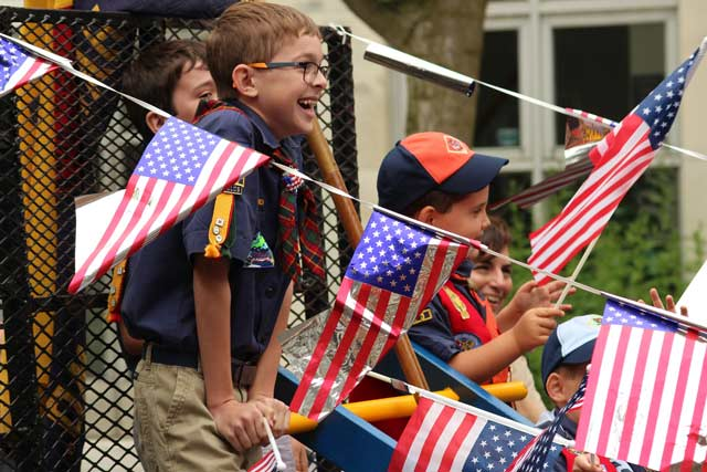 Boy Scouts on Memorial Day