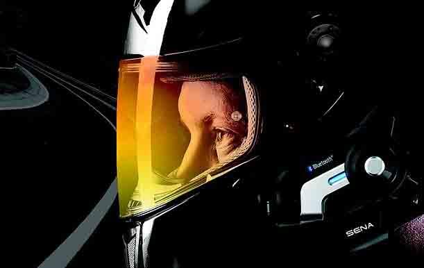 Motorcycle helmet speakers