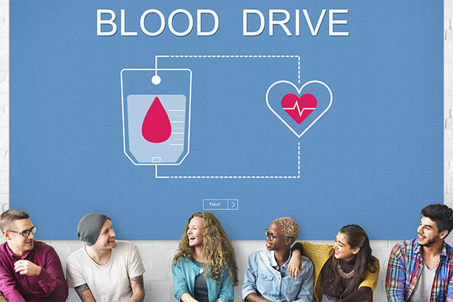 National Blood Donor Month - blood drive
