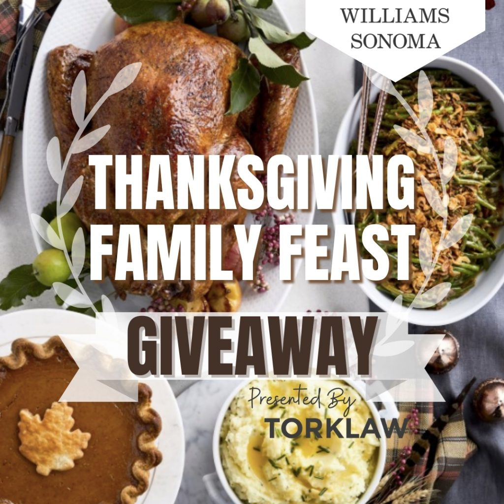 Thanksgiving Family Feast Giveaway