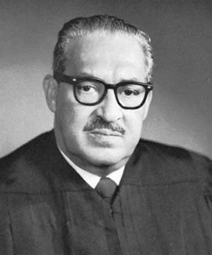 Thurgood Marshall: United States' First Black Supreme Court Justice