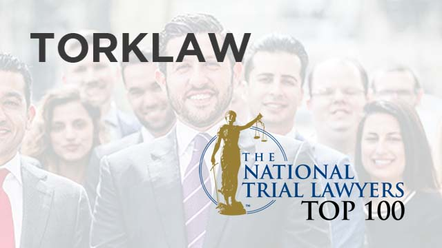 TorkLaw - National Trial Lawyers Top 100 member