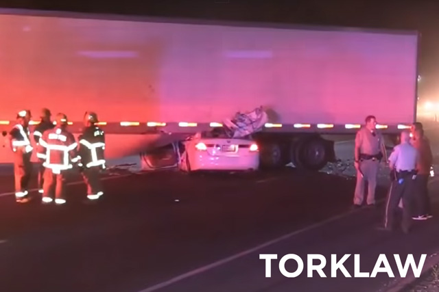truck underride legislation - too late for this driver