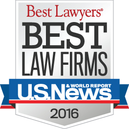 US News Best Law Firm Award 2016