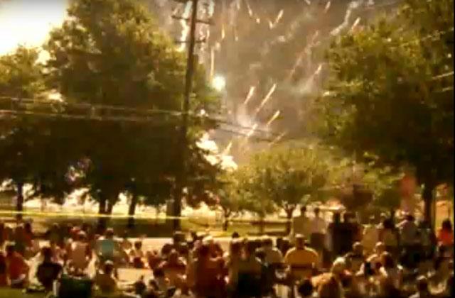 Fireworks disaster in Vienna, Virginia