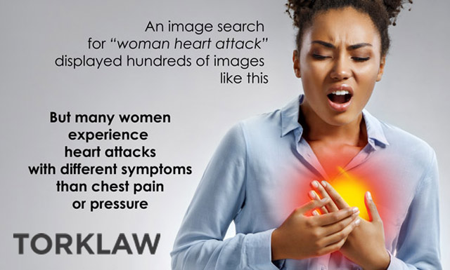 american heart month - heart attack symptoms for women