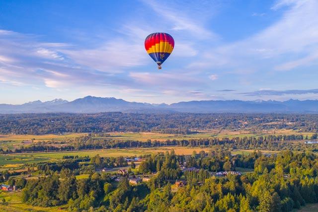 aviation accident - hot air balloon
