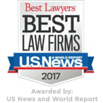 Best Lawyers 2017 - Awarded by US News and World Report