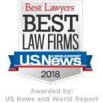 Best Lawyers 2018 - Awarded by US News and World Report