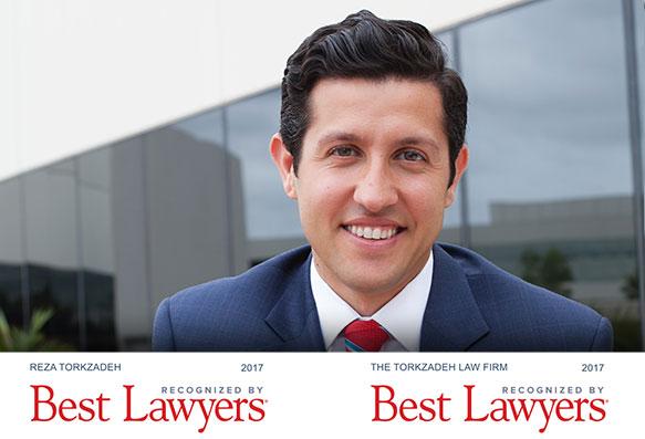 Reza Torkzadeh - Best Lawyers in America 2017
