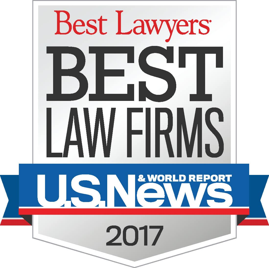 US News Best Law Firm Award 2017