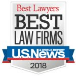 U.S. News & World Report's 'Best Law Firms' List in 2018