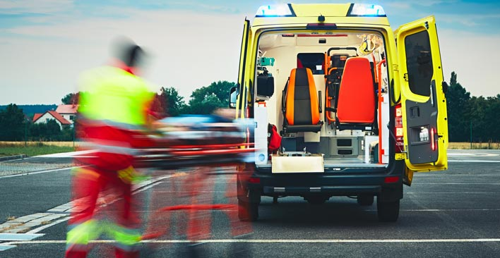 common car accident injuries - EMT