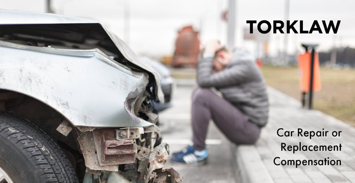 car repair or replacement compensation
