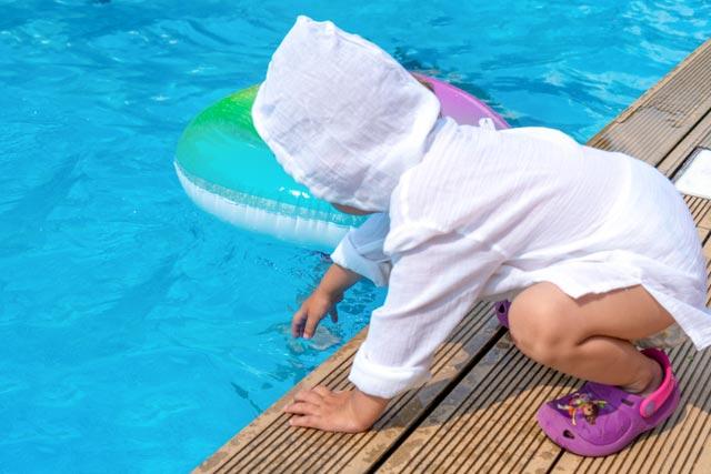 child injury - pool safety