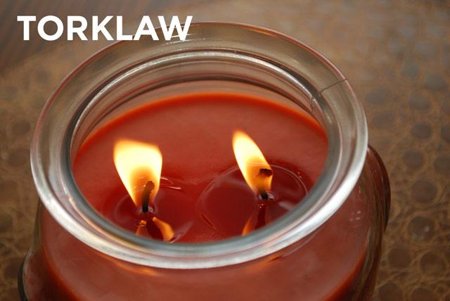 dangerous candles recalled