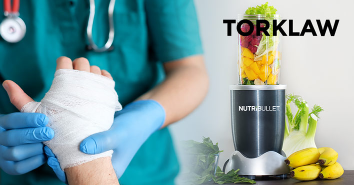 defective product - nutribullet
