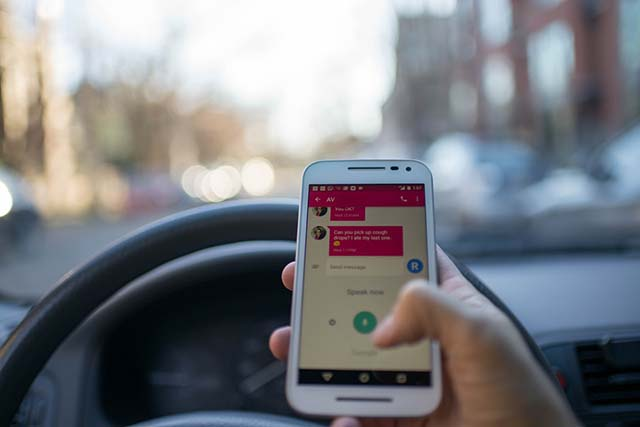 3,450 people died due to distracted driving in 2016