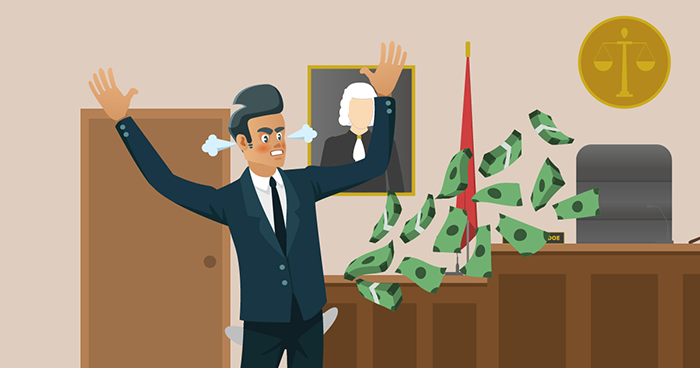 Do I have to pay attorney's fees if I lose a case?