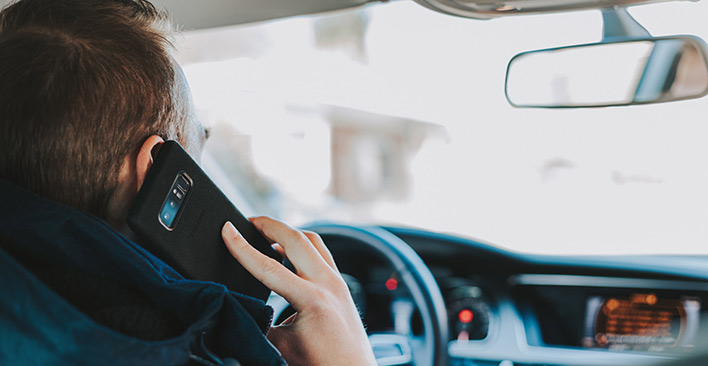 mobile phone - driving distraction