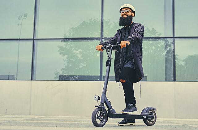 e-scooter helmet - safety