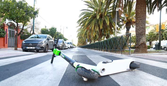 gig economy - dockless scooter danger