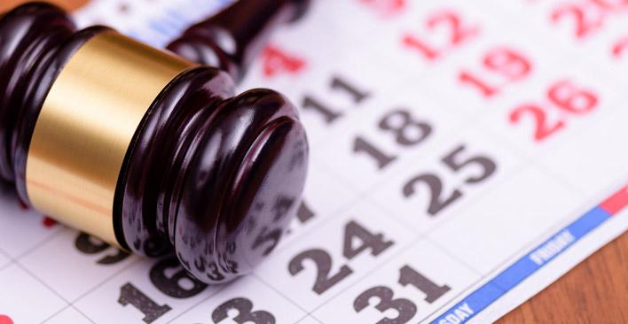 injury cases take time - trial