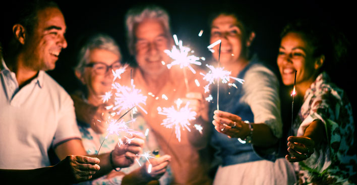 fourth of july sparklers