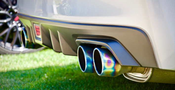 loud motor vehicle fines - exhaust pipes