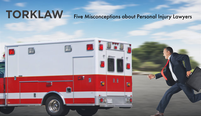 misconceptions about personal injury lawyers