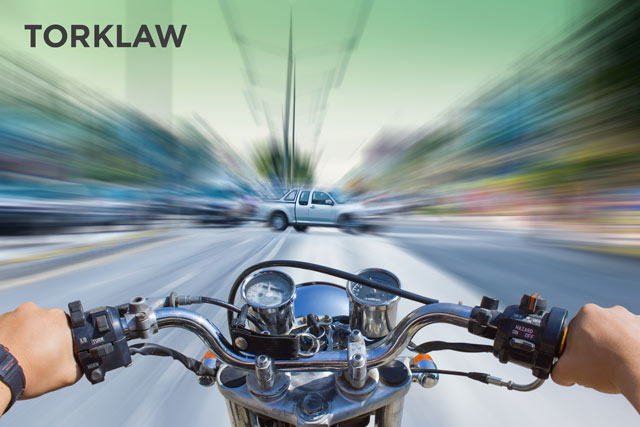 motorcycle accident guide - not yielding right-of-way