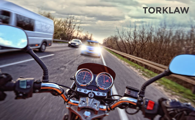 motorcycle accident guide - determining fault