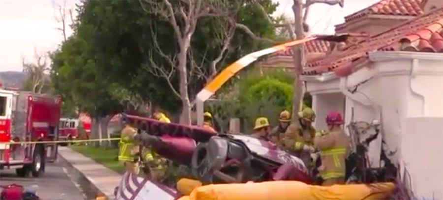 Newport Beach Helicopter Accident