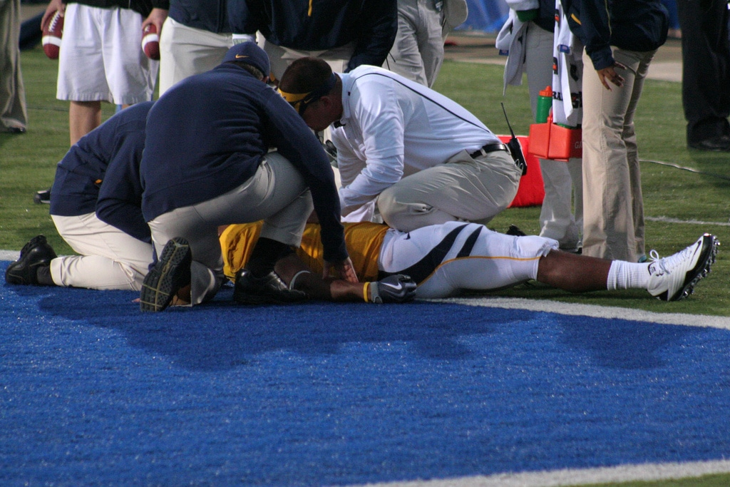 NFL Football injury