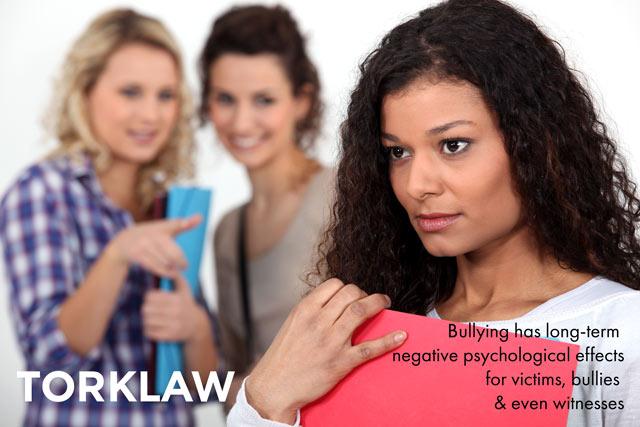 no name-calling week - bullying has long-term effects