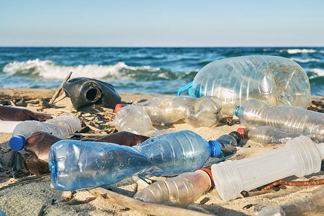 earth day - ocean plastic
