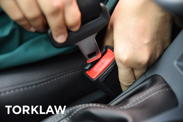 product liability lawyers - seat belt defects