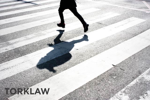 rare accidents - pedestrian
