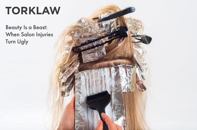 beauty salon injuries