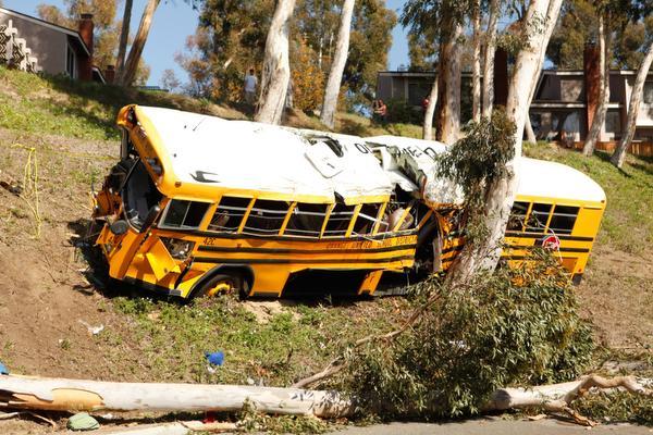 Anaheim School Bus Crash