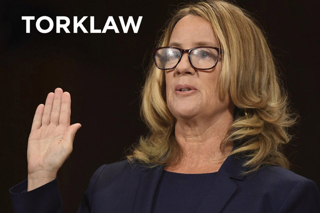 sexual assault #metoo - Dr. Christine Blasey Ford