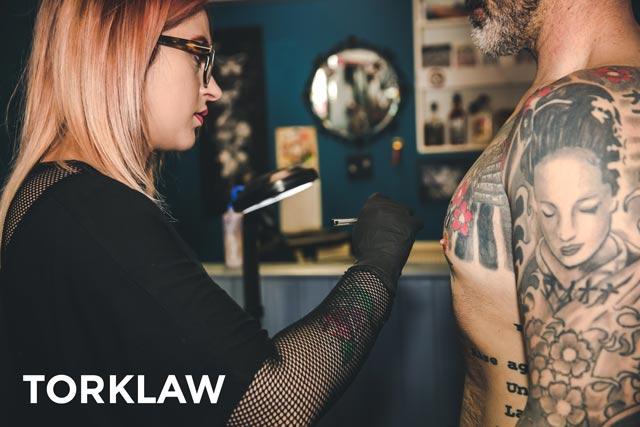 tattoo parlor injuries